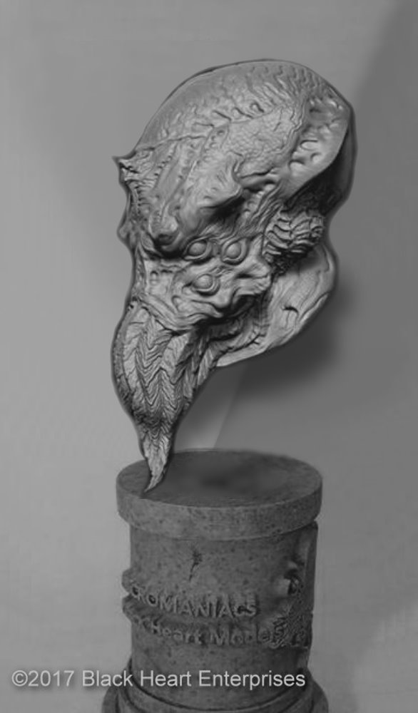 Cthulhu Micromania Bust From Black Heart