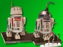 R2-D2 and R5-D4 1:12 scale kit from Bandai -  $27.95 - PREORDER RESERVATION