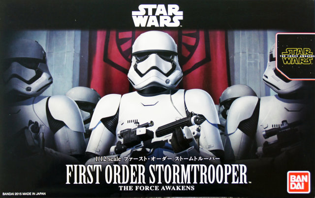 first order stormtrooper 1 12 figure kit from bandai