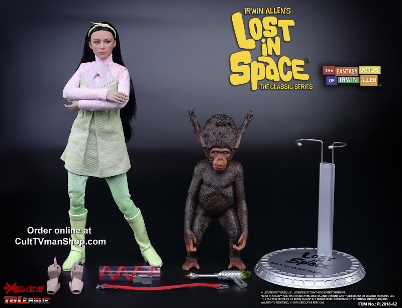 Lost In Space Penny Robinson And Bloop Premium 1 6