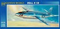 Bell X1-B Rocket Plane 1:48 from Glencoe