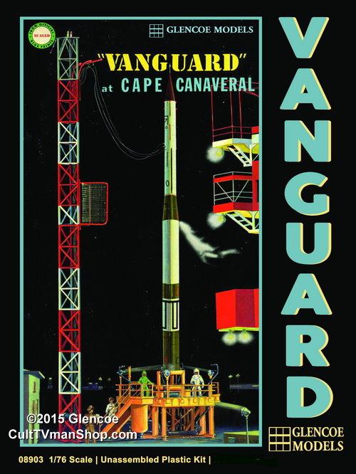 vanguard rocket 1 76 scale from glencoe