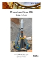 R7 Soyuz CSG Launch Tower 1:144 scale from LVM Studios