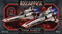 Viper Mk II 1:72 scale 2-pack - Battlestar Galactica from Moebius