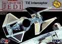 TIE Interceptor 1:48 scale from MPC