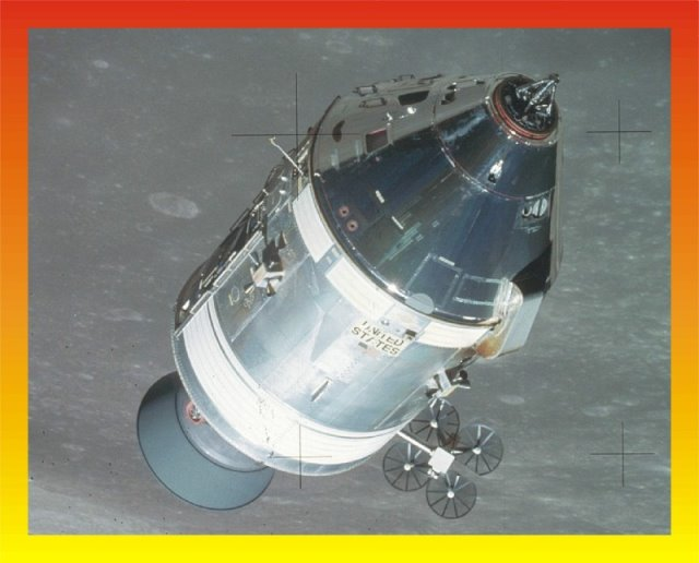 Apollo 1:48 CSM Block II H mission detail set from New Ware