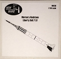 Mercury Redstone Liberty Bell 7 1/144 scale from New Ware