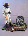 The Mutated Scientist (The Fly) Deluxe figure and base - Graveyard Scenes