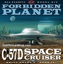 Forbidden Planet C-57D 1:144 from Polar Lights  SCRATCH AND DENT