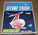 Classic Romulan Bird of Prey reissue from AMT/Round 2