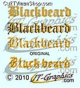 Blackbeard decals from JTGraphics
