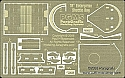 "Shuttle Bay photoetch detail for 18"" AMT starship from Paragrafix"