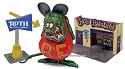Ed Roth Rat Fink diorama reissue from Revell