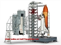 Shuttle Launch Tower with Shuttle & Boosters 1:144 from Revell of Germany