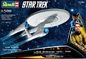 New Enterprise 1:500 JJ Abrams kit from Revell Germany