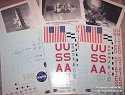 Saturn V 1:72 scale decals from CultTVman/Space Model Systems