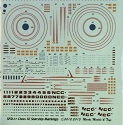 Class IX Starship decals 1:3788 scale from Starfighter Decals