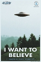 I Want To Believe Photo 494 UFO from Atlantis  -  $16.45- PREORDER RESERVATION