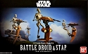 Battle Droid and STAP 1:12 figure kit from Bandai