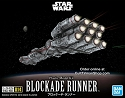 Rebel Blockade Runner/Millennium Falcon mini kits from Bandai - $18.95 - PREORDER RESERVATION