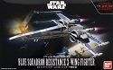 The Last Jedi Blue Squadon X-Wing 1:72 scale kit from Bandai