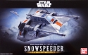 Snowspeeder set 1:48 and 1:144 scale kits from Bandai