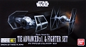 Star Wars Vaders TIE and  TIE Fighter set mini-kit 007 from Bandai