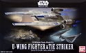 Rogue One U-Wing and TIE Striker 1:144 scale kit from Bandai
