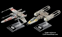 X-Wing & Y-Wing 1:144 scale  2-pack from Bandai - $12.95 - PREORDER RESERVATION