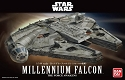 Force Awakens Millennium Falcon 1:144 scale kit from Bandai
