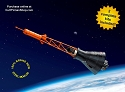 Mercury Space Capsule - 2 pack 1:72 from Horizon Models