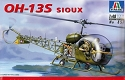 OH-13S Sioux helicopter 1:48 from Italeri