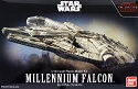 The Last Jedi Millennium Falcon 1:144 scale kit from Bandai
