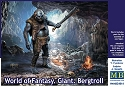 World of Fantasy - Giant Bergtroll 1:24 scale from Master Box