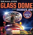 Lost in Space Robot Glass Dome only from Moebius Models - $13.95 - PREORDER RESERVATION