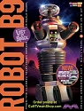 Lost in Space Robot DELUXE kit 1:6 scale with glass dome from Moebius Models  SCRATCH AND DENT