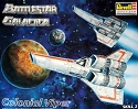 Colonial Viper 1997 reissue from Revell - OPEN BOX KIT