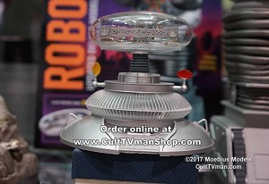 Lost in Space Robot Complete Glass Dome kit  from Moebius Models - $24.95 - PREORDER RESERVATION
