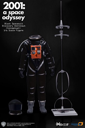2001: A Space Odyssey Black Conceptual Spacesuit 1:6 scale Premium costume only from Executive Replicas