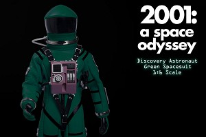2001: A Space Odyssey Green Discovery Spacesuit 1:6 scale Premium costume only from Executive Replicas