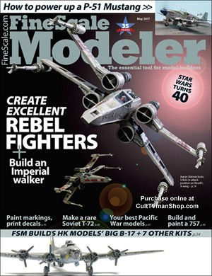 Fine Scale Modeler May 2017 - Star Wars  Issue