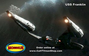 USS Franklin - Star Trek Beyond  1:350 scale from Moebius - $47.95 - PREORDER RESERVATION