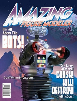 Amazing Figure Modeler #63 - Robot issue!