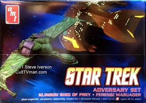 Adversary Set: Klingon Bird of Prey & Ferengi Marauder from AMT/Round 2