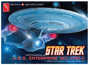 Enterprise C 1:1400 scale reissue from AMT/Round 2