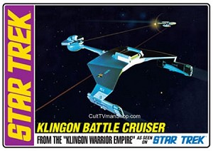 Classic Klingon Battle Cruiser reissue from AMT/Round 2