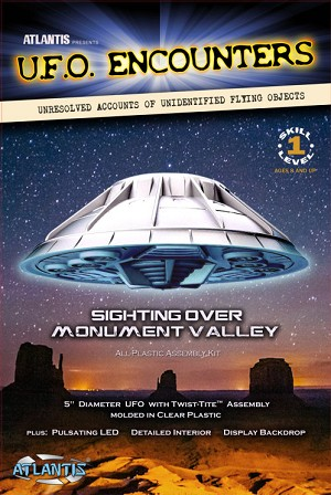 Monument Valley UFO from Atlantis