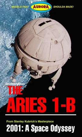 Aries 1-B 1:80 scale capsule from Atomic City
