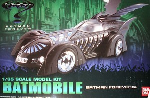 Batman Forever Batmoible 1:35 scale from Bandai