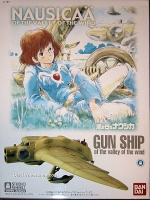 Nausicaa of the Valley of the Wind Gunship 1:72 from Bandai